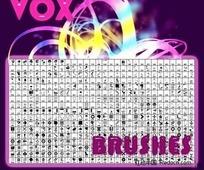 高清晰符号、形状类PS笔刷(NONAMEVOX Photoshop Brushes)