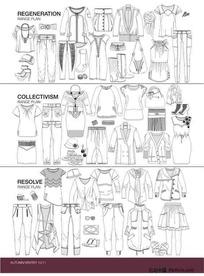 服装设计模板11