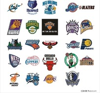 NBA球队标志