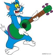 汤姆弹吉他