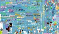 儿童相册常用图案字体集
