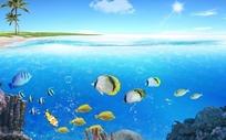 海洋世界风景素材