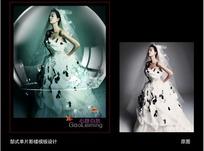 PS婚纱写真模板(原创)