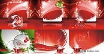 2011新年圣诞节矢量素材