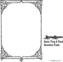 欧式方形边框