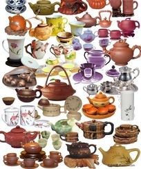 各种茶具素材