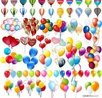 各种气球矢量素材