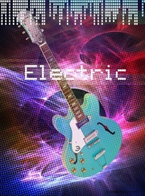 电吉他海报
