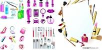 各种化妆品图标