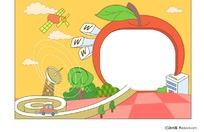 苹果科技边框