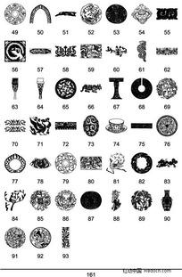 中国传统图案矢量素材大全8 (1)