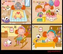 韩国可爱卡通人物