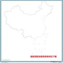 900万示意地图版2(海岸线无图廓)