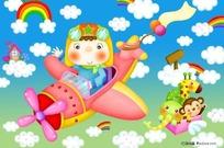 梦想的飞行员漫画