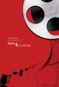 电影海报设计背景素材