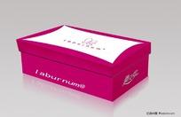 鞋包装盒效果图