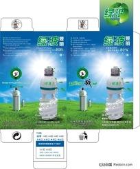 节能环保灯泡包装盒