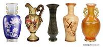 各类古典花瓶psd素材