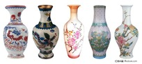 古典瓷器花瓶psd素材