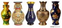 古典艺术花瓶psd素材