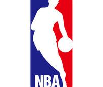 NBA图案英文字母LOGO设计