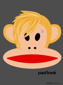 黄头发的大嘴猴