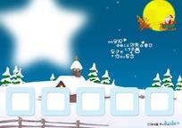 圣诞卡通背景图片