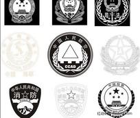 中国执法军队袖章