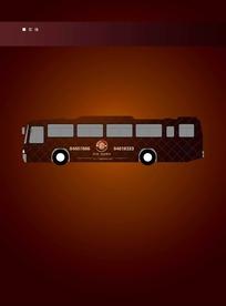 皇家港湾公交车车身广告