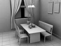 Maya室内设计模型
