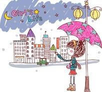 女生的生活 Girl s Life 下雨天