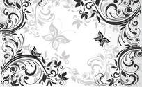 花边 花纹 纹样 印花  素材图案