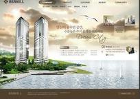 城市建设网站模板