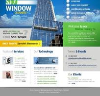 欧美建筑业广告设计模版