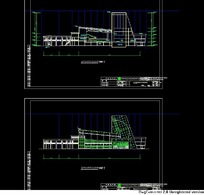 CAD展厅平面图
