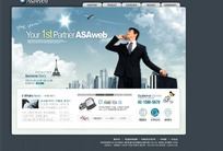 企业招聘网页模板