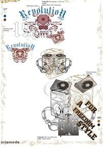 耳机音箱图案花纹