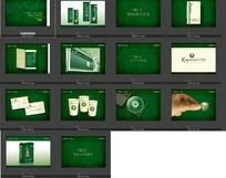 地产类公司vi应用部分设计