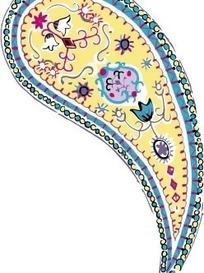 韩国花纹图样