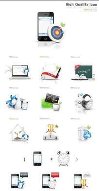 手机网页图标素材图片下载