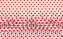 红色四方连续图案布料素材