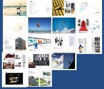宣传画册模板设计矢量文件