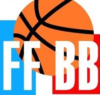 适量篮球与字母创意组合标识