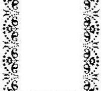 黑色二方连续图案边框矢量素材