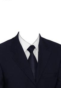黑西服黑领带换脸模板