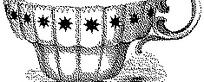 欧式古典星星图案杯子矢量素材
