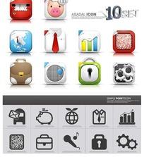 手机网页图标素材
