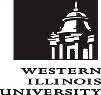 西伊利诺伊大学western illinois university标志矢量素材