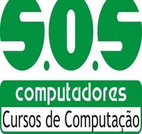 SOS电脑课程计算矢量logo素材