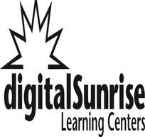 日出数字化学习中心矢量logo素材